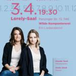 """(3.4.) """"Wilde Komponiererei"""" - Ein Liederabend"""