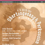 (4.5.) Obertongesang & Percussion