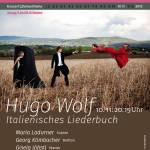 (10.11.) Hugo Wolf - Italienisches Liederbuch