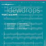 (4.5.) dewdrops