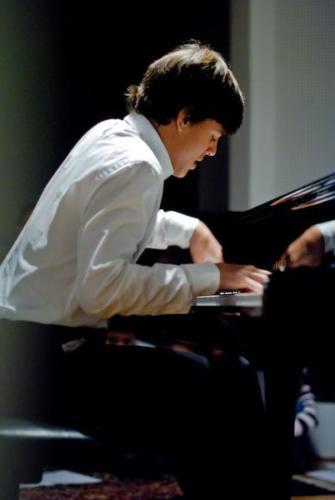 Aaron Pilsan concert at premises of Musikvermittelt, Wien Hietzing