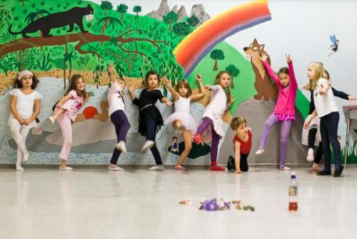 Kids dance workshop organised by Musikvermittelt, Wien Penzing